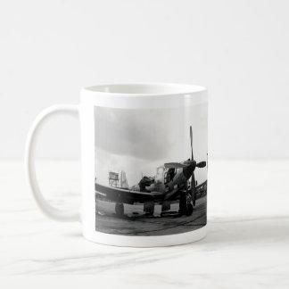 Aviones de combate de WWII Kingcobra Taza De Café