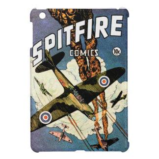 Aviones de combate del Spitfire - Segunda Guerra M iPad Mini Cárcasa