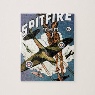 Aviones de combate del Spitfire - Segunda Guerra M Rompecabeza Con Fotos