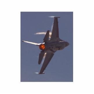 Aviones de combatientes de jets fotoescultura vertical