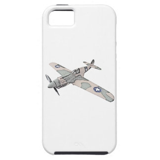 Aviones de Curtiss P-40 Warhawk Funda Para iPhone 5 Tough