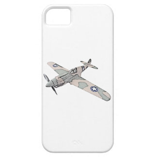 Aviones de Curtiss P-40 Warhawk iPhone 5 Carcasas