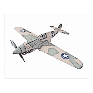 Aviones de Curtiss P-40 Warhawk Postales