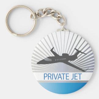 Aviones de jet privado llaveros