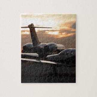 Aviones de jet puzzle