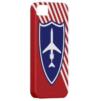 Aviones de jet retros iPhone 5 carcasa