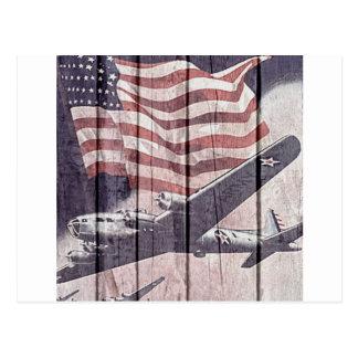 Aviones de la guerra postales