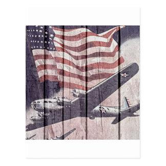 Aviones de la guerra tarjetas postales