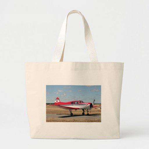 Aviones de los yacs bolsas lienzo