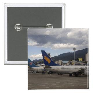 Aviones de pasajeros chinos nacionales del jet ali pin cuadrado