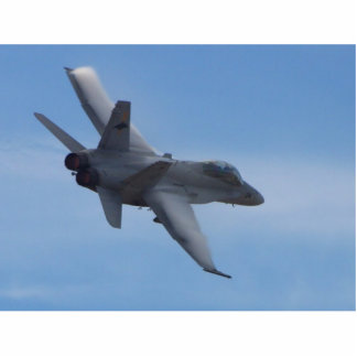 Aviones de reacciones de combatientes fotoescultura vertical