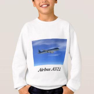 Aviones del avión de pasajeros del jet A321 Sudadera