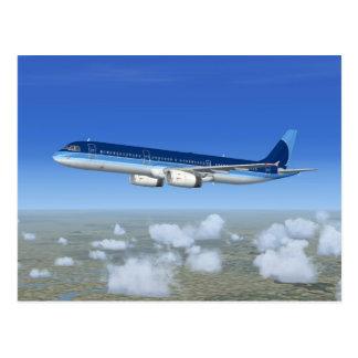 Aviones del avión de pasajeros del jet A321 Postal