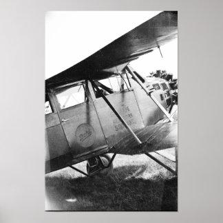 Aviones del Buhl del vintage - Marysville Michigan Póster