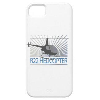 Aviones del helicóptero funda para iPhone 5 barely there