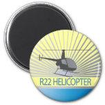 Aviones del helicóptero imanes de nevera