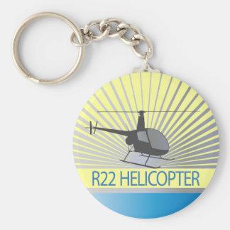 Aviones del helicóptero llavero redondo tipo pin