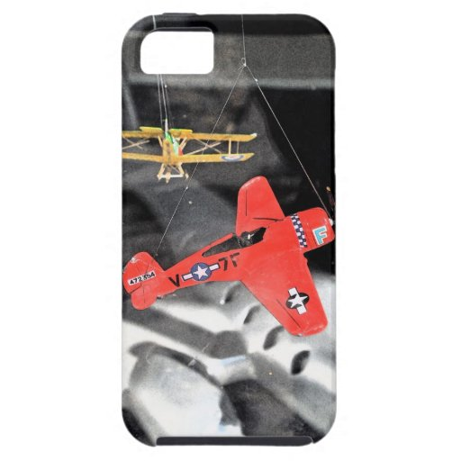 Aviones del juguete iPhone 5 Case-Mate cárcasa