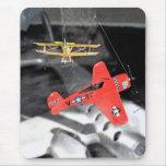 Aviones del juguete tapete de ratones