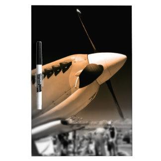 Aviones del Mk 1A del Spitfire Pizarra