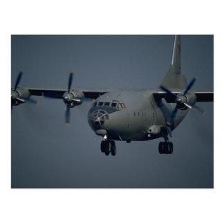 Aviones del transporte, fuerza aérea rusa tarjeta postal