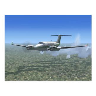 Aviones del turbopropulsor del Rey-Aire Postal