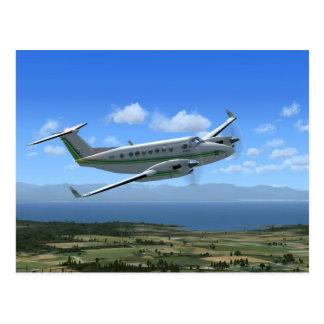 Aviones del turbopropulsor del Rey-Aire Tarjetas Postales