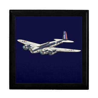 Aviones del vintage WWII los E.E.U.U. Cajas De Joyas