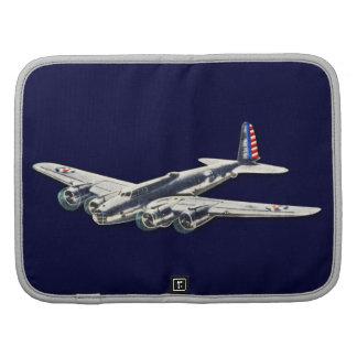 Aviones del vintage WWII los E.E.U.U. Organizadores