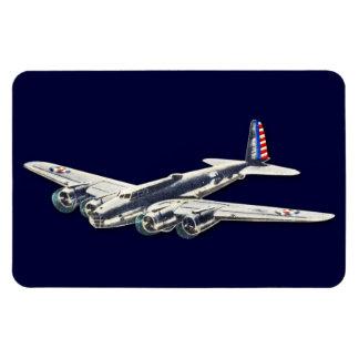 Aviones del vintage WWII los E E U U Imanes Flexibles