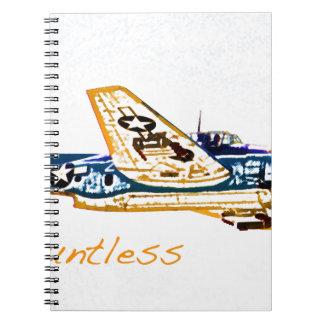Aviones Douglas de la guerra mundial 2 impávida Cuaderno