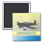 Aviones experimentales imán