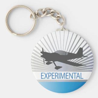 Aviones experimentales llaveros personalizados