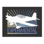Aviones experimentales postales