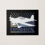 Aviones experimentales puzzle con fotos