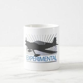 Aviones experimentales tazas de café