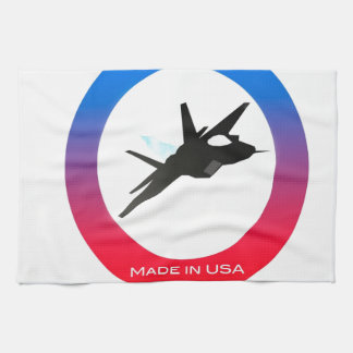 aviones f22 toalla