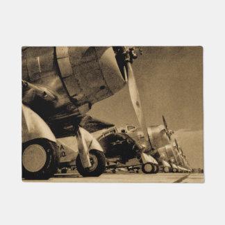 Aviones impávidos del bombardero del SBD de Felpudo
