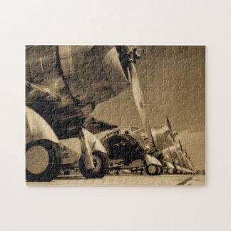 Aviones impávidos del bombardero del SBD de Puzzle