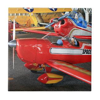 Aviones modelo azulejo cuadrado pequeño