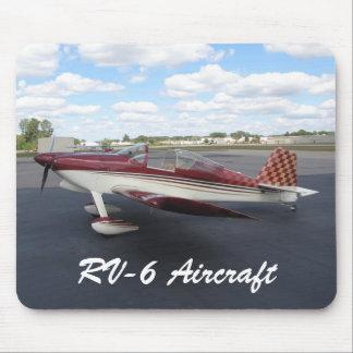Aviones RV-6 Alfombrilla De Ratón