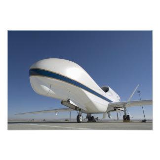 Aviones sin tripulación del halcón global fotografías