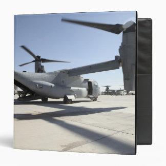 """Aviones tiltrotor 2 de V-22 Osprey Carpeta 1 1/2"""""""