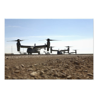 Aviones tiltrotor de V-22 Osprey Fotografía