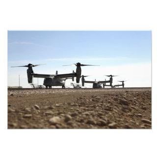 Aviones tiltrotor de V-22 Osprey Impresiones Fotograficas