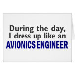 AVIONICS ENGINEER During The Day Cards
