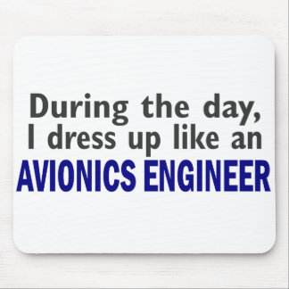 AVIONICS ENGINEER During The Day Mouse Pad
