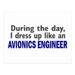 AVIONICS ENGINEER During The Day Post Card