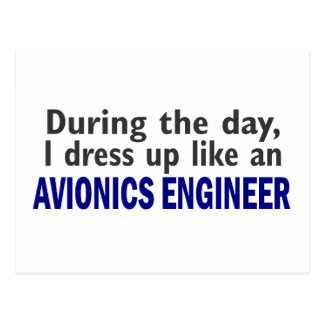 AVIONICS ENGINEER During The Day Postcard