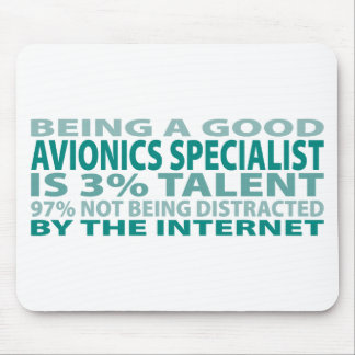 Avionics Specialist 3% Talent Mouse Pad